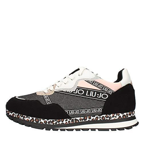 Scarpe Bambino Liu-Jo Sneaker Running Wonder 17 Black ZS21LJ12 4A1741