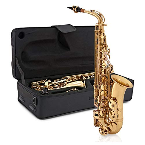 Altsaxophon von Gear4music gold