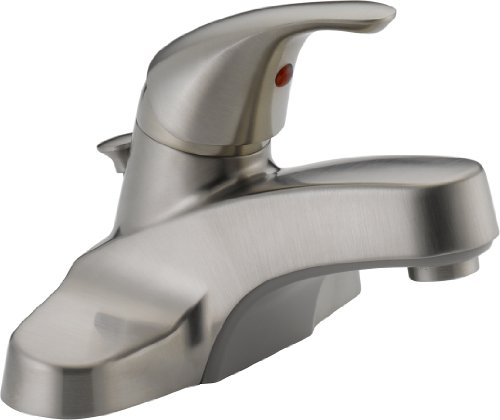 Peerless Single Handle Centerset Bathroom P136LF
