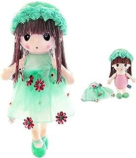 HWD Kawaii Flower Fairy Stuffed Soft Plush Toy Doll Girls Gift , 18 Inch ( Green )