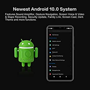 OUKITEL C22 Unlocked Smartphones (2021 New) 128GB/4GB Android 10 Unlocked Cell Phones with Dual Sim 256GB Expandable 5…