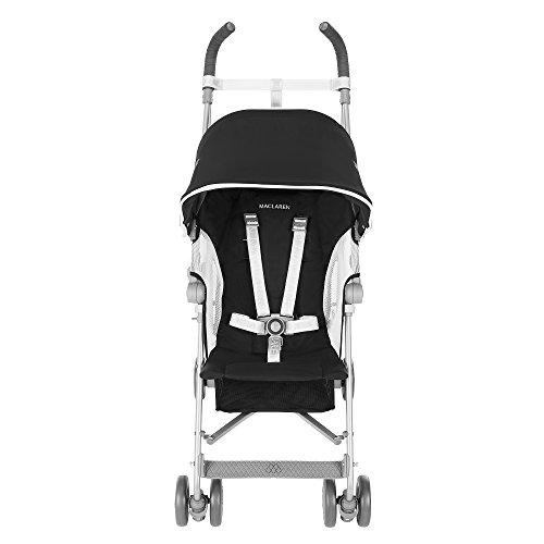 Maclaren Globetrotter - Silla de paseo, color negro / blanco