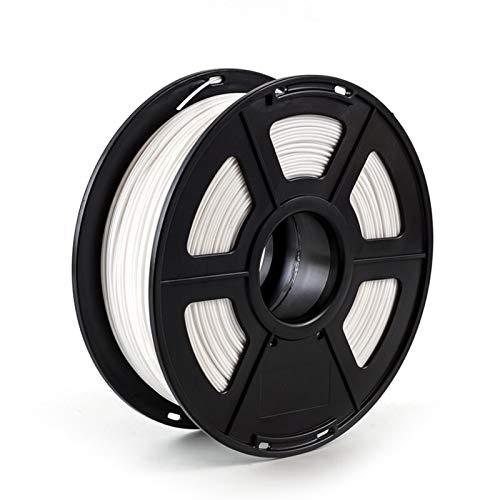 PPLAS 3D Printer Filament PETG 1.75mm 1kg/2.2lbs Plastic Filament Consumables PETG Material for 3D Printer (Color : White)