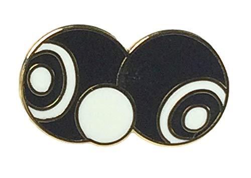 Smartbadge® Crown Green – Teppich oder Rasenschalen & Jack Harte Qualität Emaille Reversnadel Badge