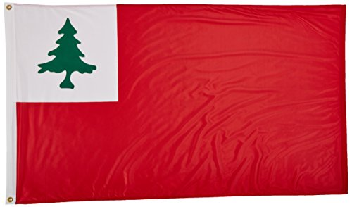 Us Flag Store Continental Superknit Polyester Flag, 3 by 5-Feet