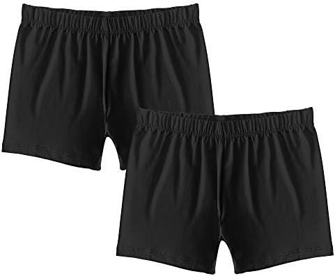 Popular Girl s Premium Playground Shorts 2 Pack Black M 7 8 product image