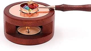 Artlalic Wax Seal Kit, Wax Seal Warmer Melting Spoon Kit Wax Sticks Wax Beads Melting Furnace Tool for Wax Sealing Stamp with Stove