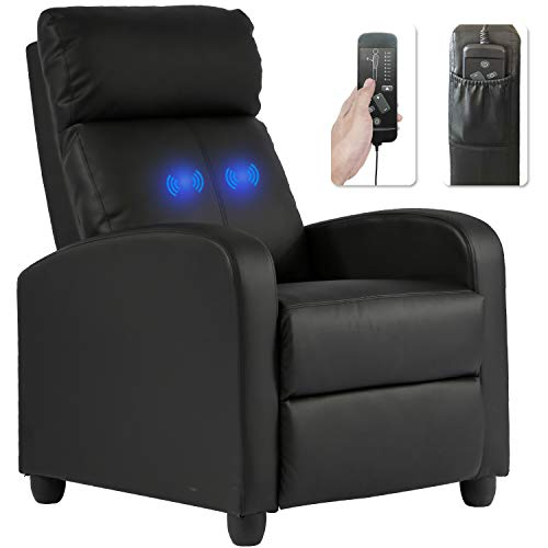 Recliner Chair for Living Room Massage Recliner Sofa Reading Chair Winback Single Sofa Home Theater...