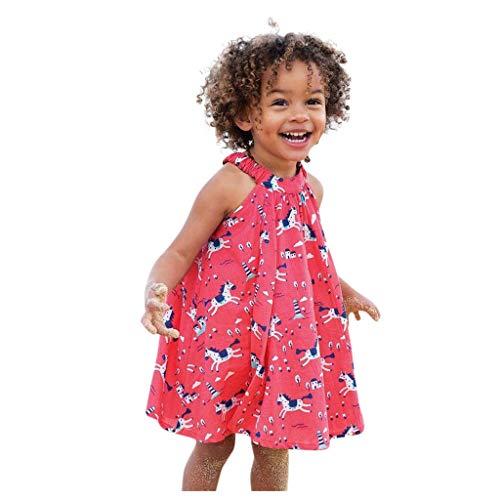 LEXUPE Kleinkind Baby Kind Mädchen Lange Ärmel gestrickt Bow Newborn Tutu Prinzessin Kleid (A-Rot,2T)