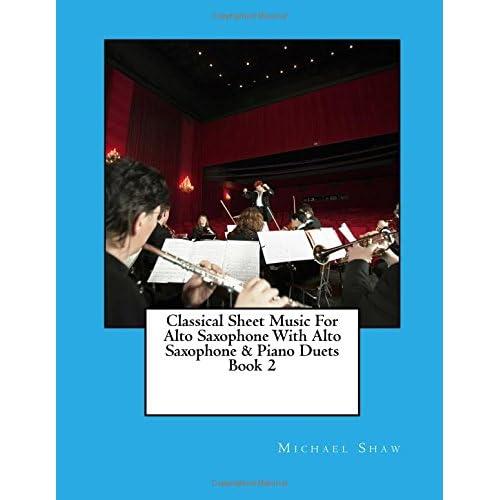 Amazon Classical Sheet Music For Alto Saxophone With Alto