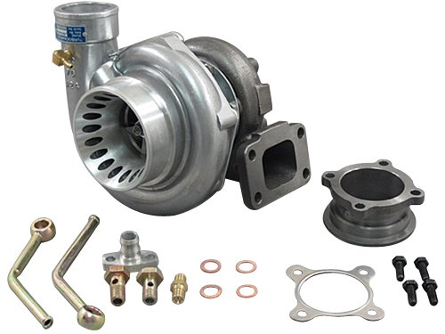 GT35 T3 Turbo Charger Anti-Surge 500+ HP + Oil V-Band