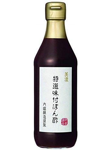 内堀醸造 美濃 特選味付ぽん酢 360ml×6本