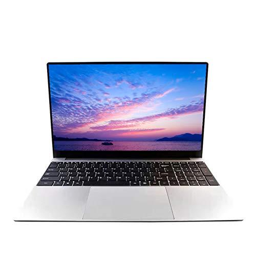 Ordenador portátil de 15,6 pulgadas, Full HD 1920 x 1080, Intel J4125 Quad-Core, 8 GB de RAM 128 GB SSD, teclado de chocolate completo, Windows 10 Pro OS, ordenador de oficina en casa, Z33