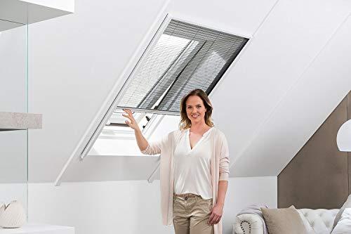 empasa Insektenschutz Fliegengitter Dachfenster Plissee 'MASTER' Alurahmen