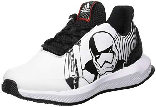 adidas RapidaRun Starwars K, Zapatillas de Running Unisex Adulto, Negro (Core Black/FTWR White/Scarlet), 38 2/3 EU