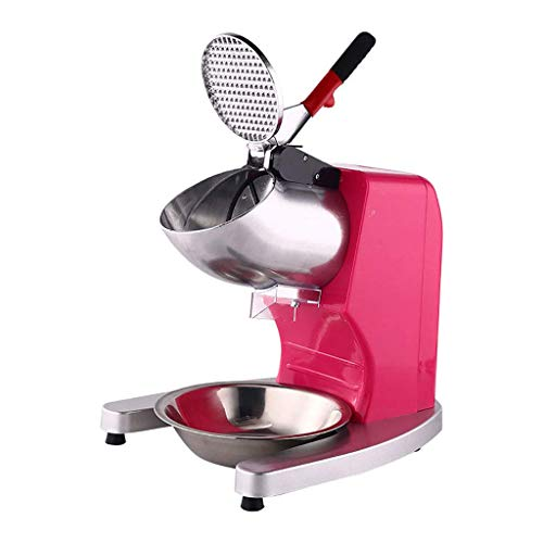 Gpzj Electric Ice Shaver,Snow Cone Maker,Shaving Crusher Machine 1450 r/min 143 lbs/hr,The Best Choice for Commercial Home
