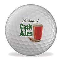 Balles de golf imprimées Un cadeau amusant Un excellent sujet de conversation Impression durable, boules de qualité supérieure
