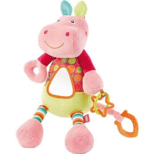 BABYSUN - Doudou d'activites hippo rivergang