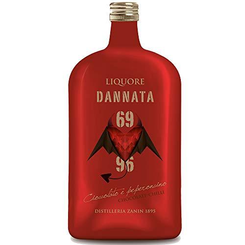 Dannata 69 96 | Liquore Cioccolato e Peperoncino | Afrodisiaco Sensuale | Amarcord Line | Distilleria Zanin 1895 | Veneto | Idea Regalo