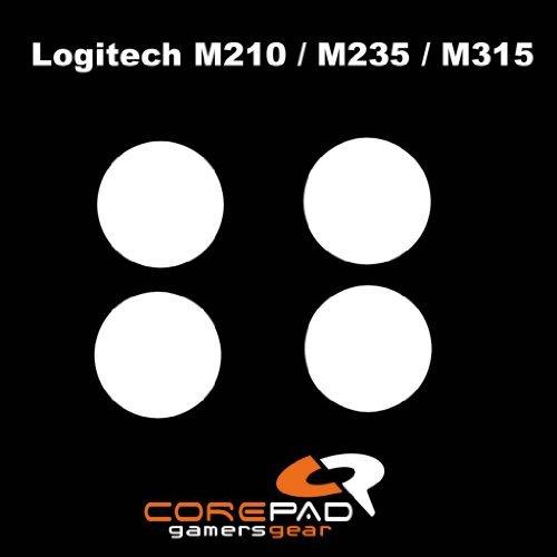 Corepad Mausfüße Skatez Pro 66 Logitech M210 - Logitech M235 - Logitech M315 - Logitech MK320