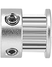 Uzinb 2GT 20 Dientes 5 mm / 6,35 mm / 8 mm Bore aleación de Aluminio de la polea Loca síncrono de Ruedas para la de 6 mm Anchura de Correas dentadas