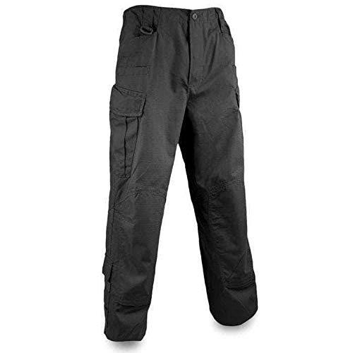 Bulldog Tactical ACU - Pantalón militar (talla M), color negro