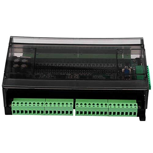 ZhengELE stepper driver PLC Motor Speed Controller FX3U 48MR DC24V Industrial Control Board PLC Programmable Logic Controller Transistor Output Motor