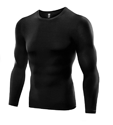 Men's Sports Base Layer Long Sleeved Compression Vest Comfortable Tight Fit...