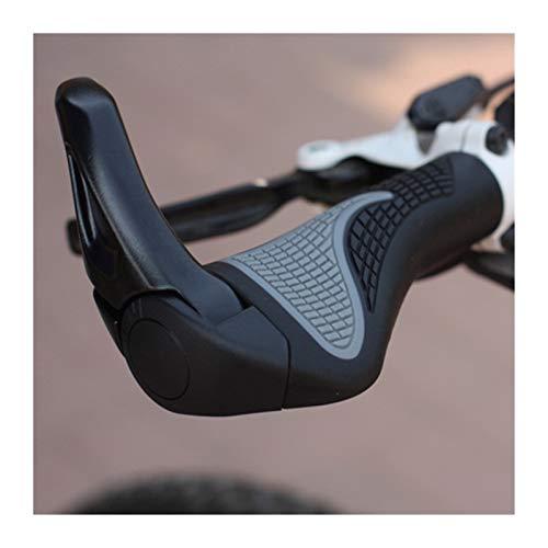 Accesorios para Bicicletas de la Ciudad de la Bicicleta de montaña al Aire Libre, Manillar de Extremo de la Barra de aleación de Aluminio, Adecuado para Bicicletas estándar diámetro Interior 2.2 cm