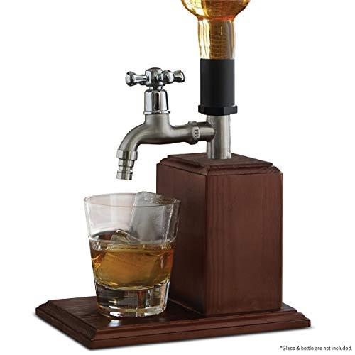 Refinery and Co. Drink Dispenser for Vodka   Whiskey and Other Spirits  Easy Dispensing Spout