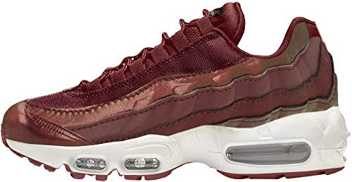 Nike Wmns Air MAX 95 SE, Zapatillas de Deporte para Mujer, Multicolor (Burgundy Crush/Burgundy Crush/White 600), 36.5 EU