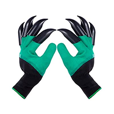 Garden Gloves with Claws for Women and Men outdoor Digging Planting Weeding Seed from