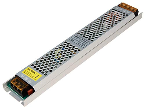 McShine - elektronischer LED Trafo Transformator 12V | 200W | 220-240V~ -> 12V= | für den Betrieb von Niedervolt LED Leuchtmitteln mit 12V (200W)