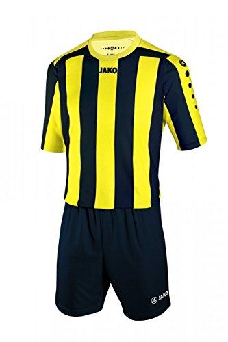 JAKO Herren Fußballtrikots KA Trikot Inter, Citro/Schwarz, XL
