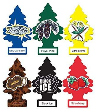Little Trees Assorted Air Freshener Classic Scents (24 Pack)