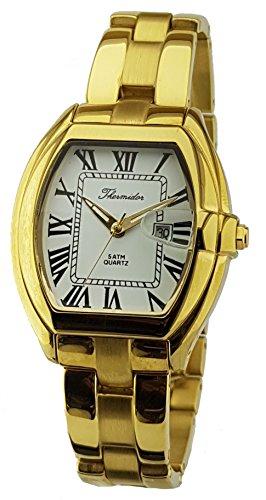 Reloj Thermidor Caballero Acero Inoxidable Chapado en...