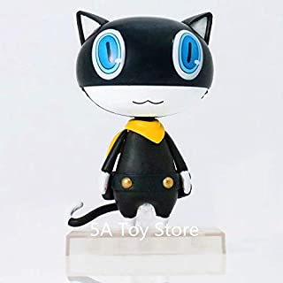 10cm (3.9 inch) - Persona 5 Morgana Variant PVC Action Figure - Mona Black Cat PVC Figure