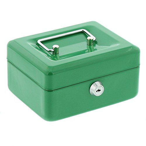 Burg-Wächter Money 5015 Caja de Caudales con Ranura para Monedas, Verde
