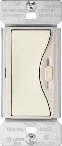 Eaton 9573DS 3-Way 300-Watt Dimmable LED/Compact Fluorescent 600W Incandescent/Halogen Dimmer with Preset, Desert Sand