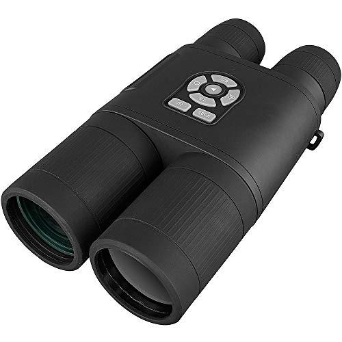 GBBG Visión Nocturna Diurna 8x52mm Binoculares telescopio HD telescopio con función de grabación para Acampar Caza al Aire Libre