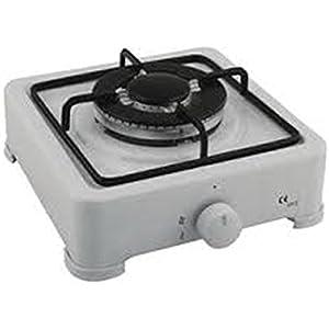 Jata CC705 Cocina de Gas Blanco Esmaltado