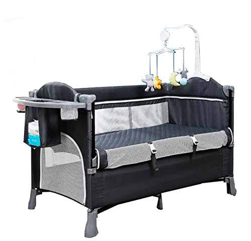 Cuna para bebé con mosquitero, cuna colecho, cama de bebé, portátil, ajustable, versátil, 4 modos de uso para recién nacidos. inversión a largo plazo uso a partir de 0 a 3...