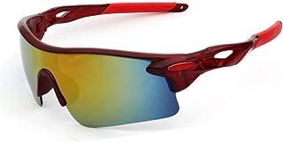 MANW Lunettes de soleil pour hommes lunettes de cyclisme cyclisme sports lunettes de plein air lunettes de soleil-D