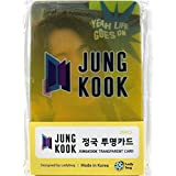 JUNGKOOK ジョングク - BTS 防弾少年団 グッズ / 透明 フォトカード 25枚セット - TRANSPARENT CARD 25pcs [TradePlace K-POP 韓国製]
