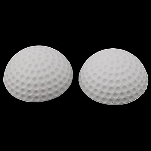 DealMux Weißer Schaum Golf Tür Kabinett Stopper fangen Halter 55mmx21mm 2ST