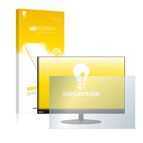 upscreen Anti-Glare Screen Protector compatible with Lenovo ThinkVision T23d – Protection Film Matte