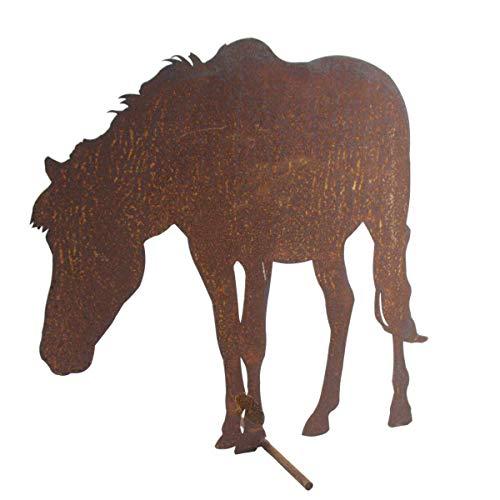 440s SAREMO Rost Pferd grasend. H: ca. 39cm | SA-BH1-2 | 4260553562189