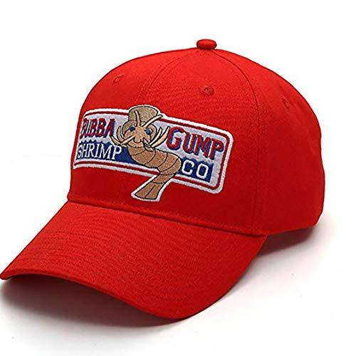 Mens Bubba Gump Shrimp Casquette De Baseball Réglable De Disque Snapback été Brodé Courir Chapeaux