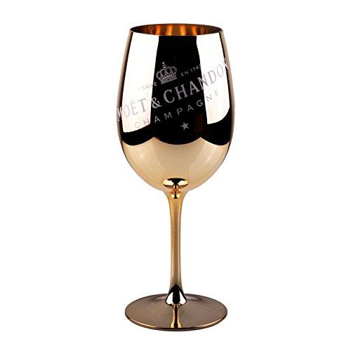 Moët & Chandon Ibiza Imperial Champagnergläser aus reinem Glas (Gold, 1)