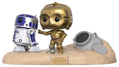 Figura Pop! Star Wars R2-D2 & C-3PO Desert Exclusive